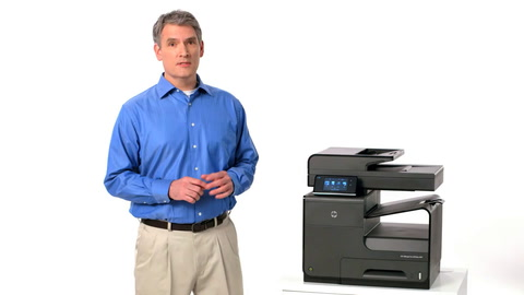 HP Officejet ProX MFP Pigment Training Video