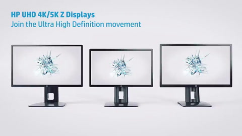 HP UHD 4K/5K Displays