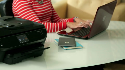 HP Officejet 8040 with Neat e-All-in-One Overview