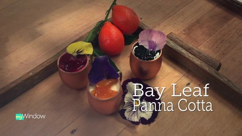 Foxtail Bakeshop – how to make bay leaf infused panna cotta