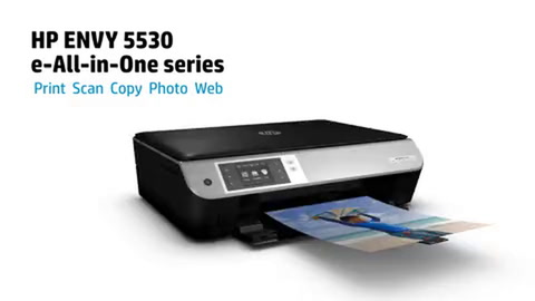 HP ENVY 5530 e-All-in-One Product Overview