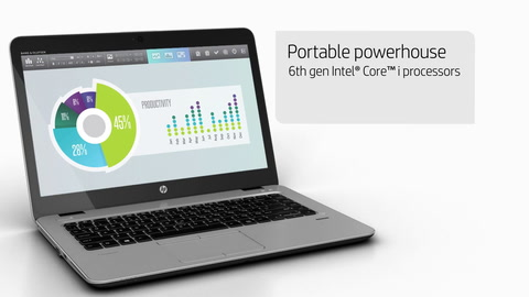 HP EliteBook 840 with HP Sure View - Thin, light, and ready to work!  Product Demo