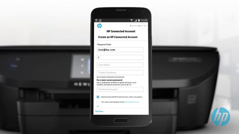 HP ENVY 5640 Easy Mobile Printing and Mobile Setup