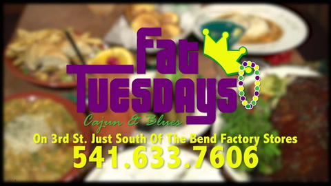 Fat Tuesdays is real Southern Cajun with Blues and more
