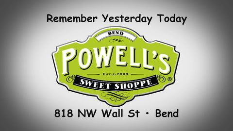 Remember yesterday, today at Powell's Sweet Shop