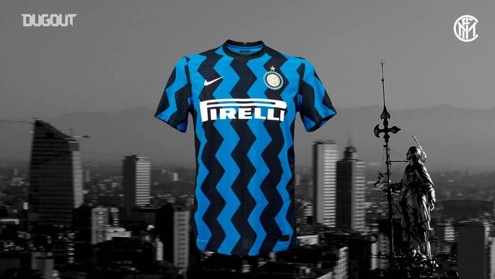 Inter de Milão lança uniforme para temporada de 2020/21