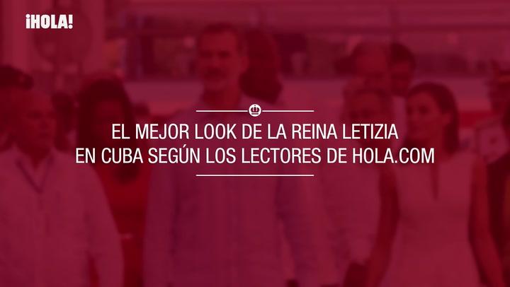 El mejor look de la reina Letizia en Cuba