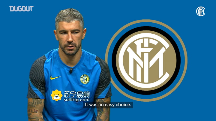Aleksandar Kolarov glad to finally join Inter