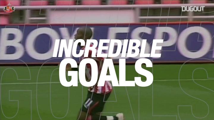 Incredible Goals: Darren Bent Scores Off A Beach Ball