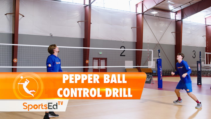 PEPPER BALL CONTROL DRILL