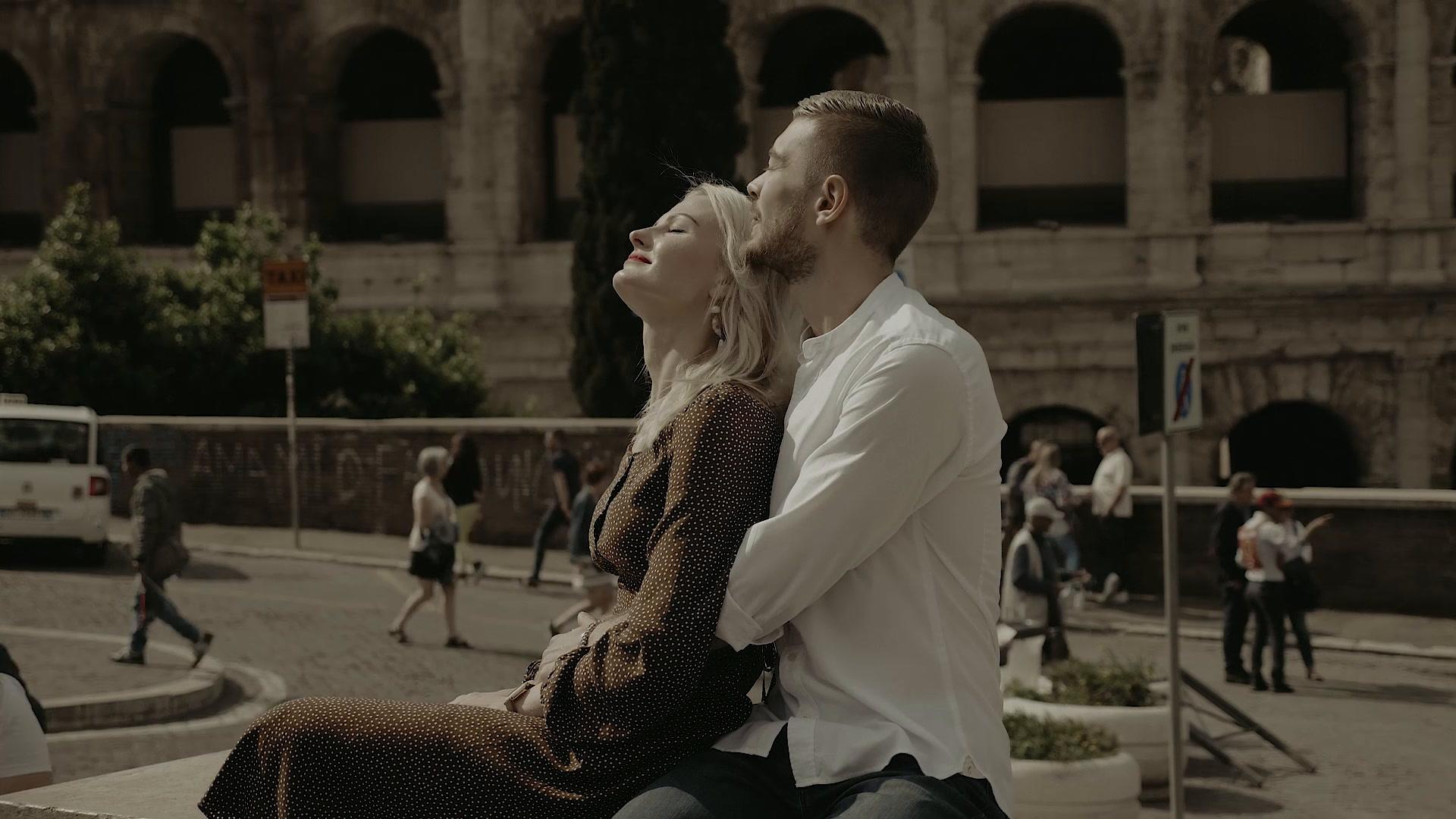 Slava + Tatiana | Rome, Italy | Street