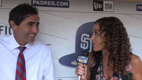 AJ Preller on calling up Luis Urias & who 3B of future is