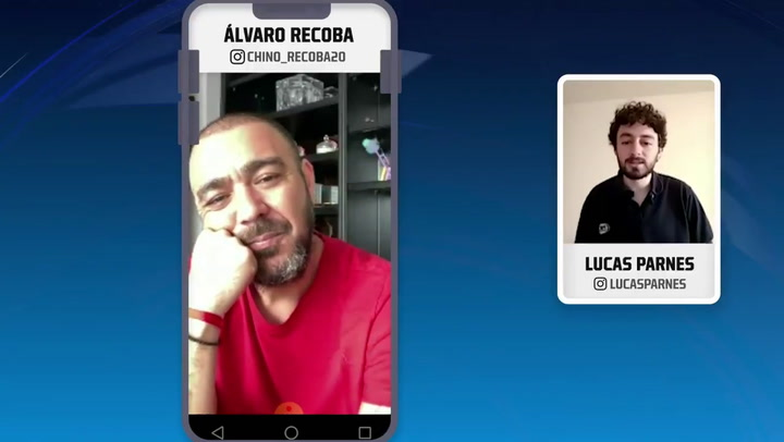 Álvaro Recoba habló en Fox Sports