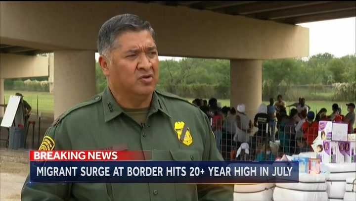 Deputy Border Patrol Chief: Situation at Border 'Not Seasonal' and Is 'Much Different' Than Past