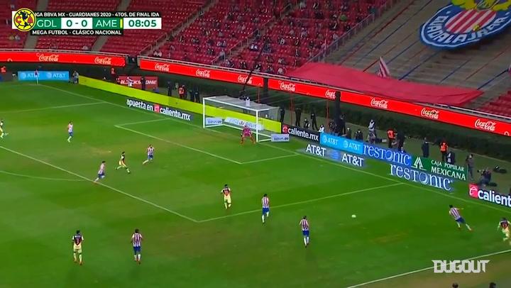 Highlights: Chivas 1-0 América