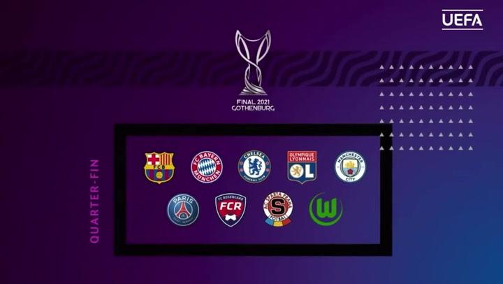 Los 8 equipos que se verán las caras en los cuartos de final de la Champions League Femenina