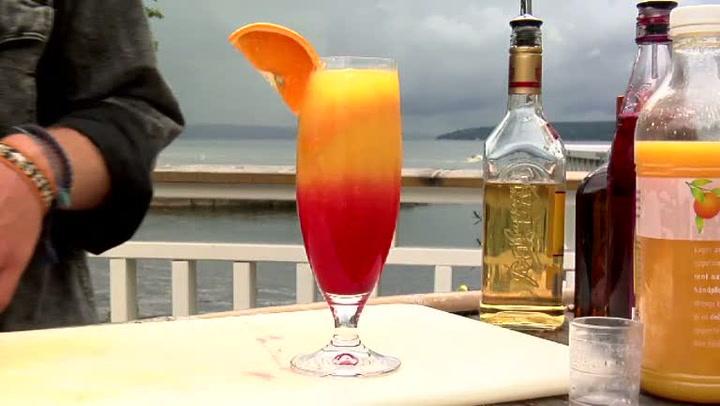 Hvordan lage Tequila Sunrise