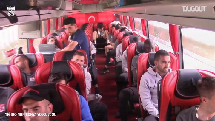 Sivasspor'un Konya Yolculuğu