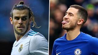 El Real Madrid planea hacer un intercambio entre Hazard-Bale en enero