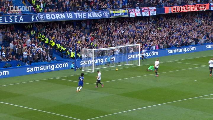 Oscar's superb outside of the boot goal vs QPR