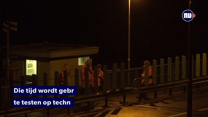 Onderzoek fout open- en dichtsignaal bruggen Afsluitdijk