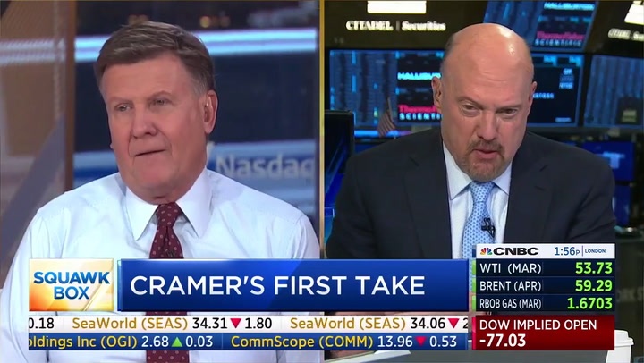 CNBC's Cramer on Bernie Sanders: 'Is He Really a Socialist or Is He a Communist?'