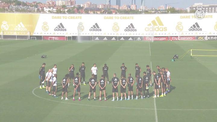 El Real Madrid realiza un minuto de silencio por el fallecimiento de la hija de Luis Enrique