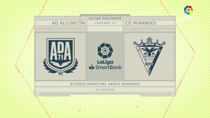 LaLiga SmartBank (J31): Resumen y goles del Alcorcón 1-2 Mirandés