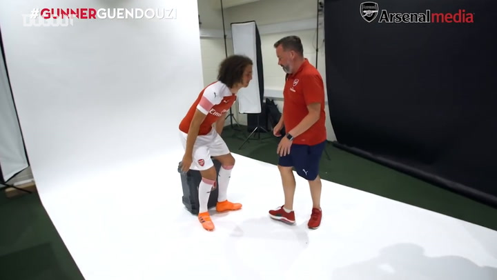 Matteo Guendouzi's First Day At Arsenal