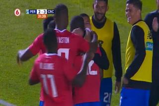 Costa Rica derrota 2 - 3 a Perú en partido amistoso