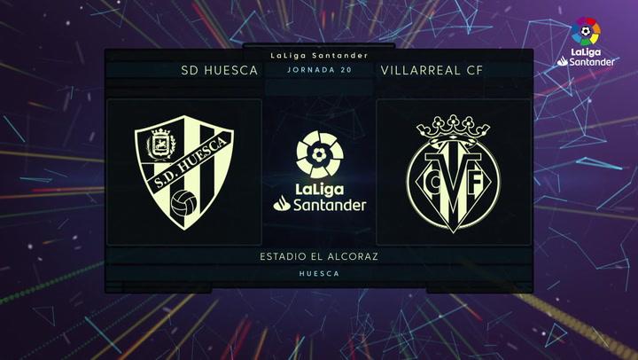 LaLiga Santander (Jornada 20): Huesca 0-0 Villarreal