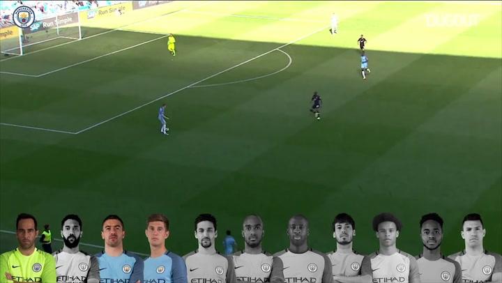 Team Goals: Sergio Agüero vs Hull