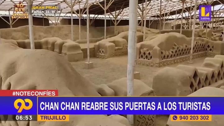 Trujillo: Chan Chan reabre sus puertas y espera recibir 250 turistas al día