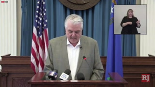 Sisolak talks phase one of Nevada recovery roadmap – VIDEO
