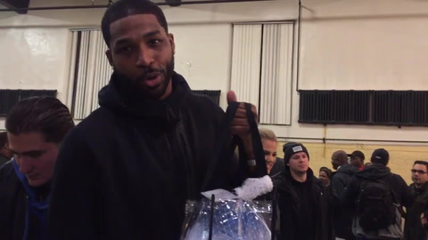 Tristan Thompson : Turkey Workout | #GobbleGains on