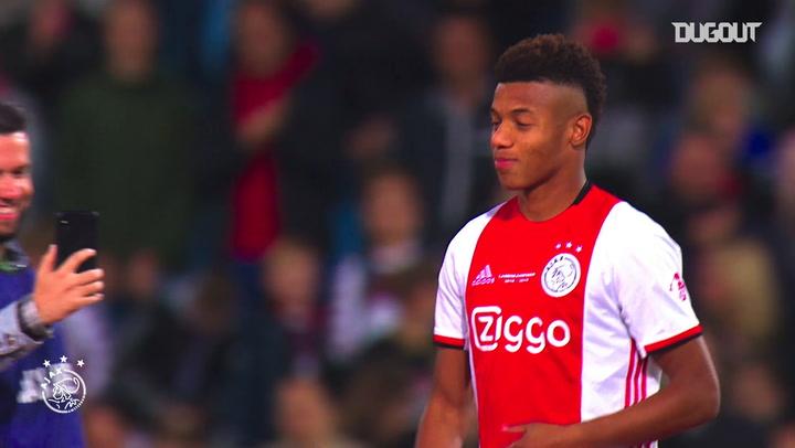 David Neres' best Ajax moments so far
