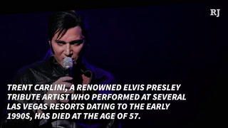 Elvis Presley tribute artist Trent Carlini dies – VIDEO
