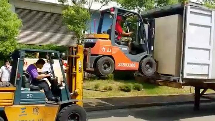 Flytting er enkelt i Taiwan