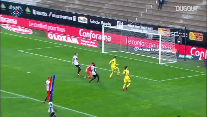 أفضل ٥ أهداف لباريس سان جيرمان خارج ملعبه أمام أنجيه في الدوري الفرنسي
