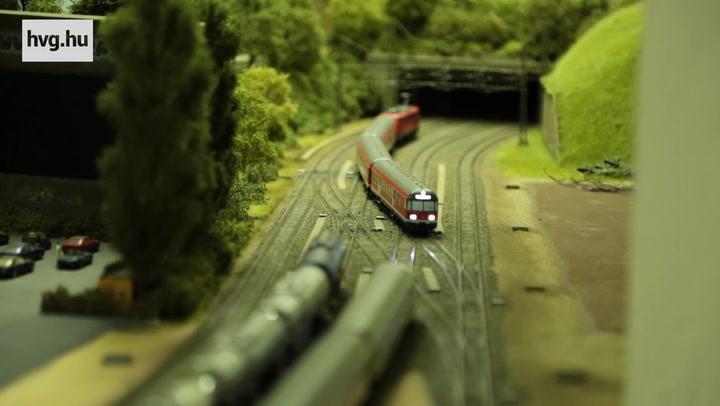 A vasútmodellező