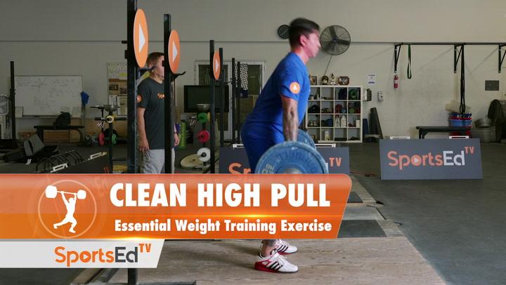 Clean High Pull - Winning Weight Training Skill