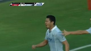 ¡GOOL DE ROGER ESPINOZA! Kansas City gana 2-0 ante el Dallas FC