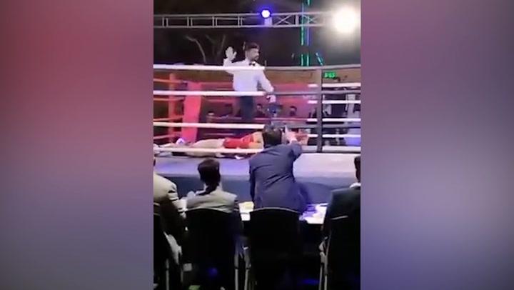 Muere un boxeador en Pakistán tras ser noqueado