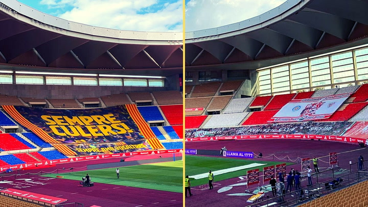 Así luce el Estadio de La Cartuja antes de la Final de Copa del Rey