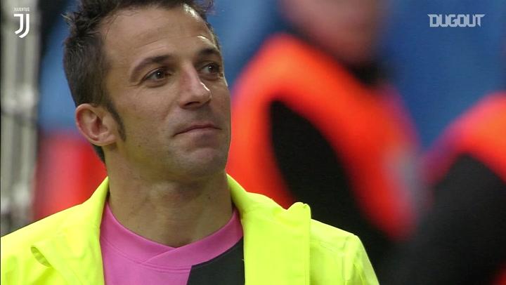 Alessandro Del Piero's last game for Juventus