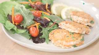 Diabetes Meal Plan: Salmon Cakes
