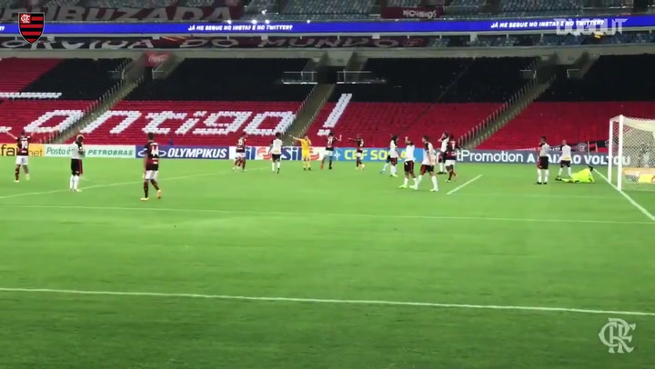 Pedro's brace leads Flamengo over Sport Recife