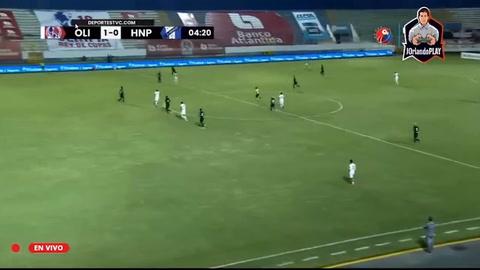Yustin Arboleda adelanta al Olimpia ante el Honduras Progreso (Liga Salvavida)