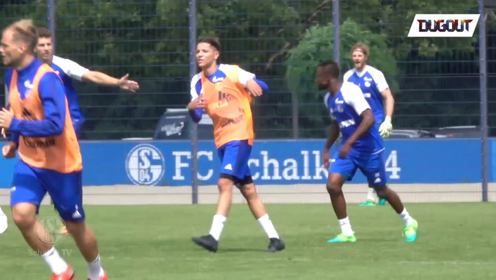 Amine Harit Impresses In First Training Session