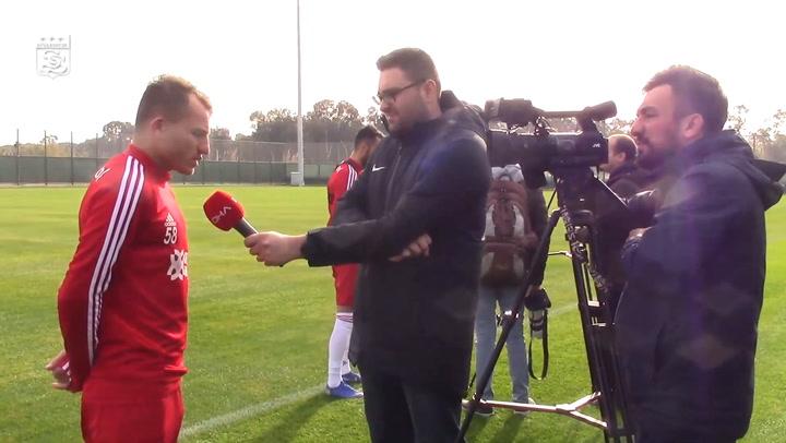 Sivasspor İkinci Yarı İçin Hazırlıklarını Sürdürüyor